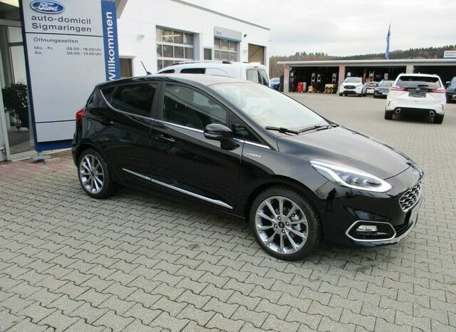 Ford Fiesta Vignale 125 PS Lederpolsterung voll