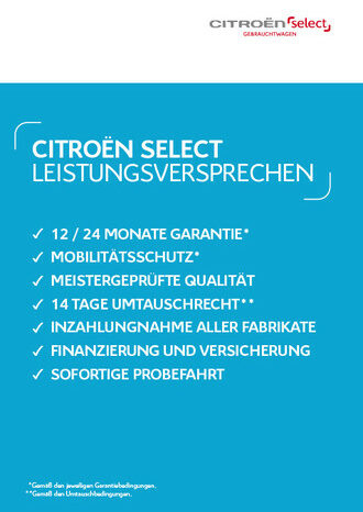 Citroen C3 Shine BlueHDi 100 S&S SHZ EPH CONNECT voll