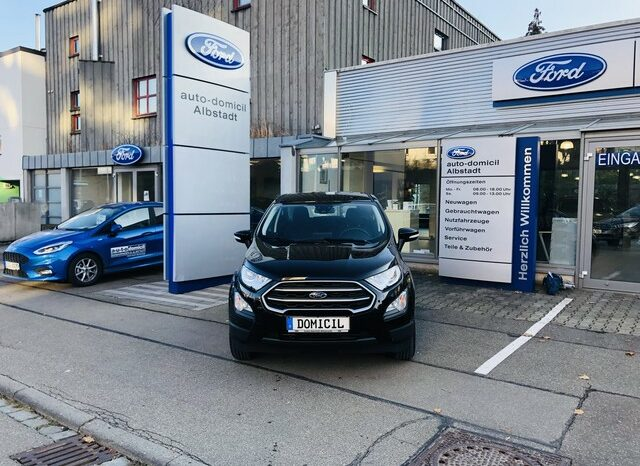 Ford EcoSport 1.0 EcoBoost Cool&Connect Start/Stopp voll